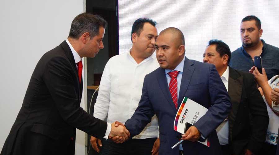 Necesario coordinar acciones en seguridad pública: Dante Montaño | El Imparcial de Oaxaca