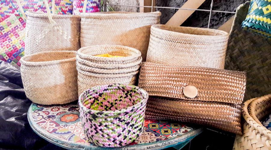 Vincularán a tejedores de la palma con mercado internacional