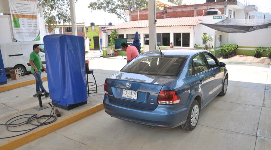 Concentran verificentros en los Valles Centrales | El Imparcial de Oaxaca