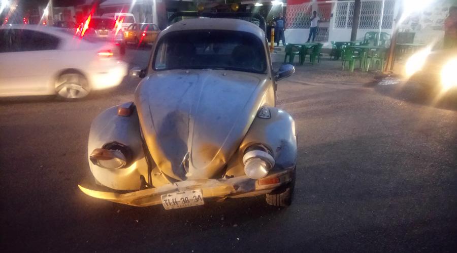 Ebrio provoca accidente vehicular en Salina Cruz | El Imparcial de Oaxaca