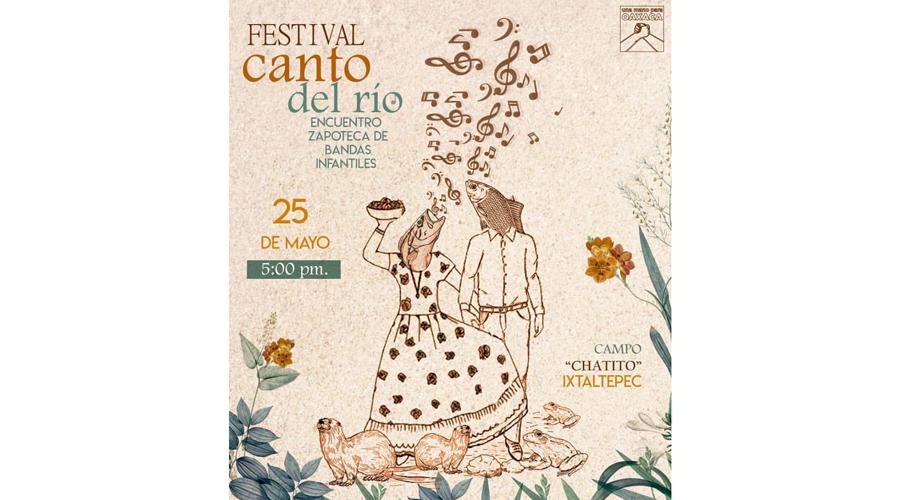 Encuentro de bandas durante el Festival Canto del Río | El Imparcial de Oaxaca