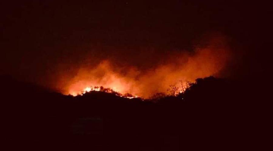 Excluyen comunidades mixes de declaratoria de emergencia por los incendios forestales