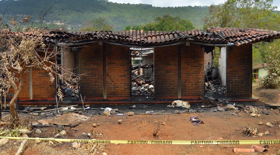 Iniciarán construcción de los dormitorios incendiados de Santiago Yosondúa