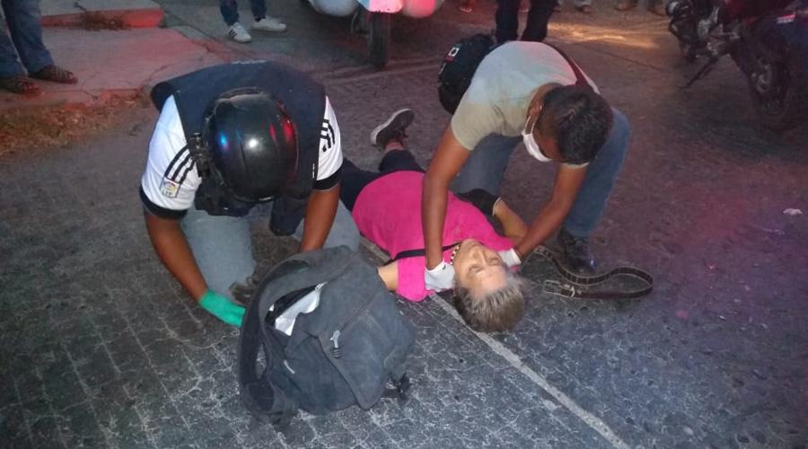 Mototaxi arrolla a una mujer y huye | El Imparcial de Oaxaca