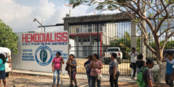 Descubren desagüe clandestino de clínica hemodiálisis en Juchitán