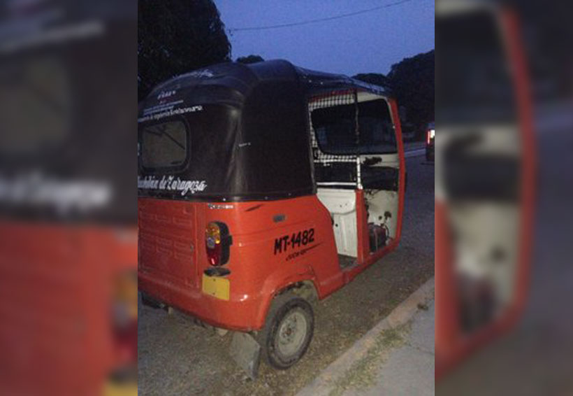 Recuperan mototaxi robado en Juchitán | El Imparcial de Oaxaca