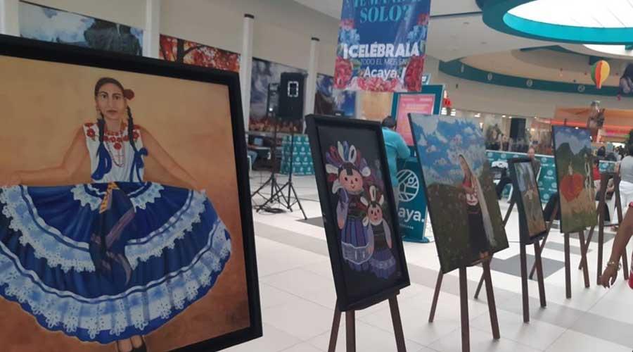 Laura Rivera lleva  la cultura mixteca  a Coatzacoalcos, Veracruz