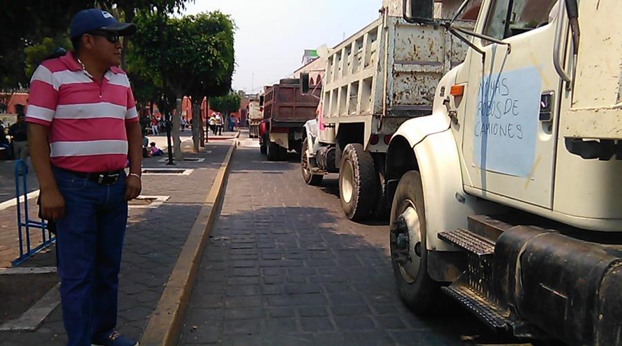 Marchan materialistas por inseguridad en Huajuapan de León, Oaxaca