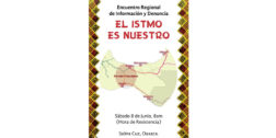 """Organizaciones convocan  al encuentro regional """"El Istmo es nuestro"""""""