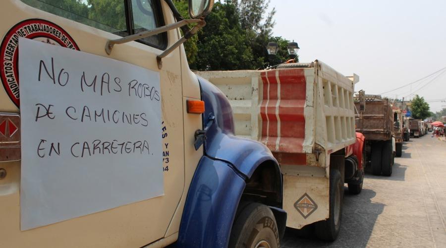 Organizaciones de la Mixteca, se manifiestan por inseguridad
