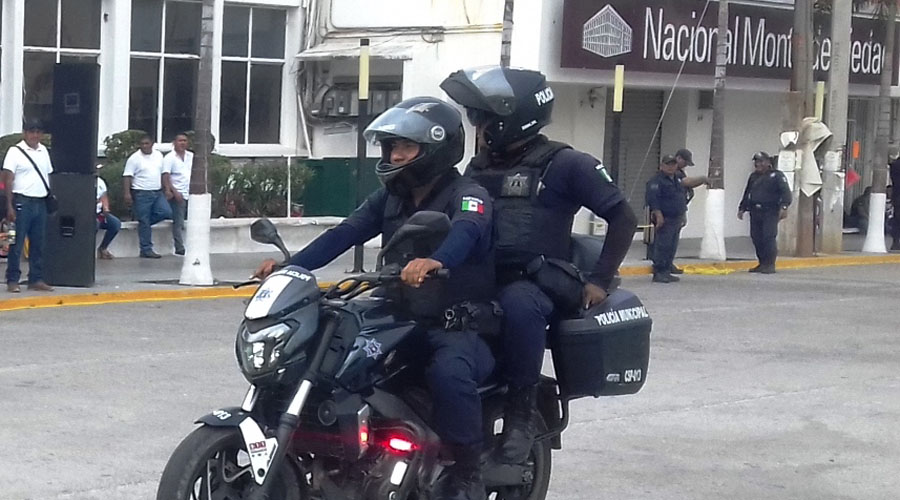 Policías municipales de Salina Cruz no pasan examen de control