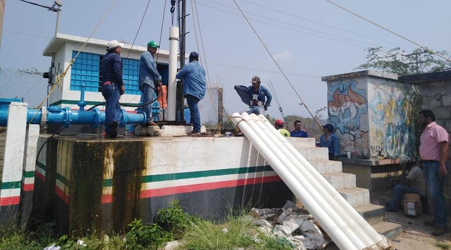 Reanudan el suministro de agua en Tehuantepec