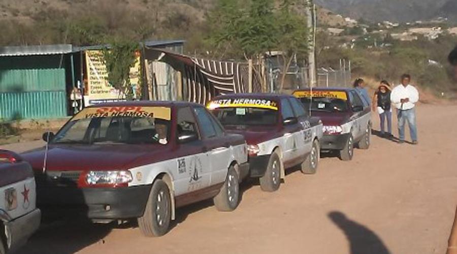 Taxistas de Vista Hermosa, Huajuapan se movilizan por presunto fraude | El Imparcial de Oaxaca