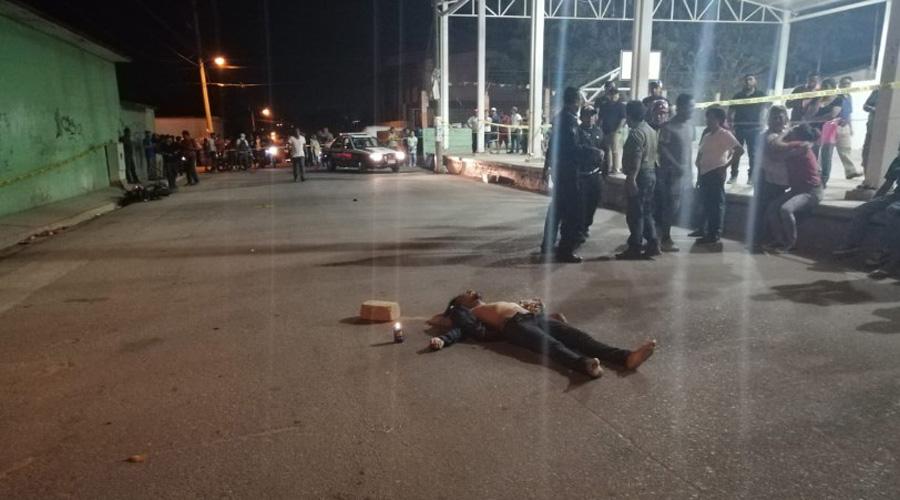 Por atorarse con cuerda amarrada en la calle, fallece motociclista | El Imparcial de Oaxaca