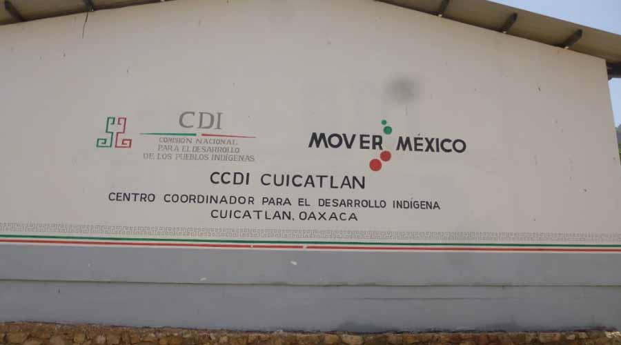 Sin designar a jefes del INPI y de la Sader en Cuicatlán