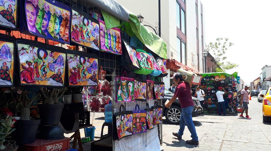 Sin ningún tipo de solución el  comercio ambulante de Oaxaca