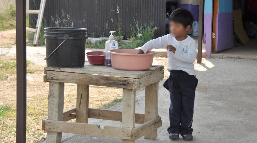 Persiste en Oaxaca deplorable infraestructura  educativa