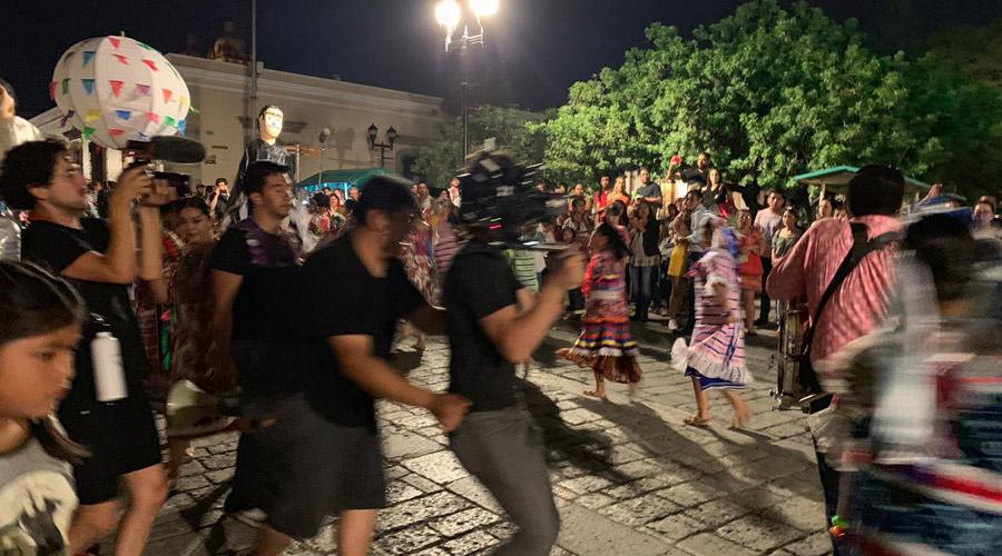 Graban serie Desenfrenadas en Oaxaca