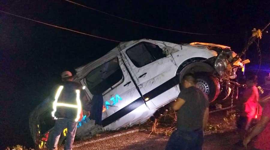 Fallece mujer en accidente de transporte público rumbo a Putla | El Imparcial de Oaxaca