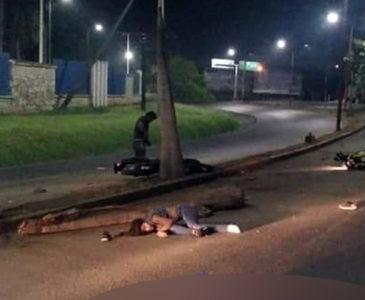 Duelo entre motociclistas en Tuxtepec; cinco heridos tras choque
