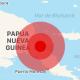 Sismo de 7.5 en Nueva Guinea activa alerta de tsunami