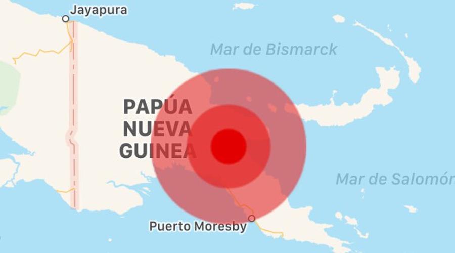 Sismo de 7.5 en Nueva Guinea activa alerta de tsunami | El Imparcial de Oaxaca