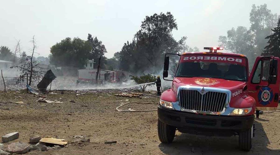 Explota polvorín en Tultepec; un muerto y cuatro heridos | El Imparcial de Oaxaca