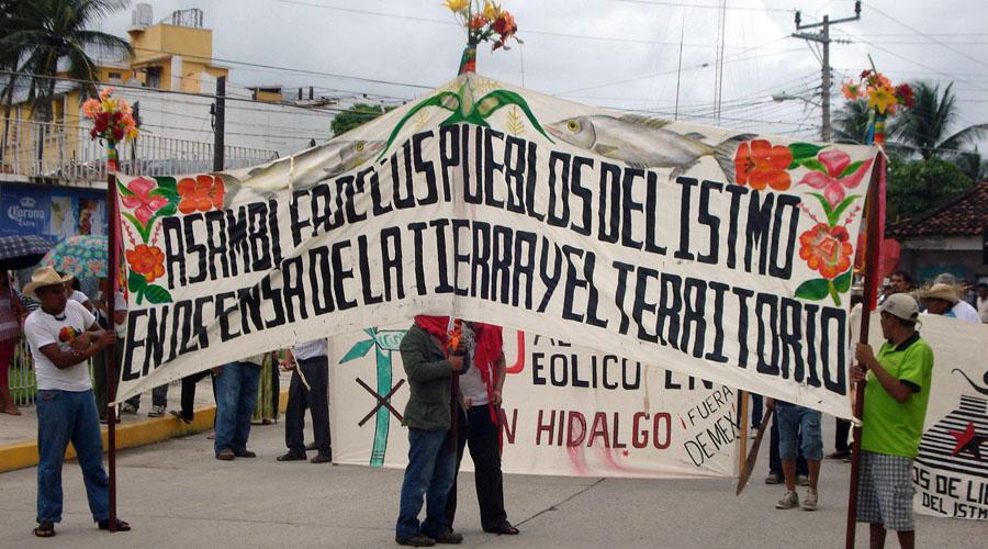 Se pronuncian organizaciones contra Proyecto Interoceánico   El Imparcial de Oaxaca