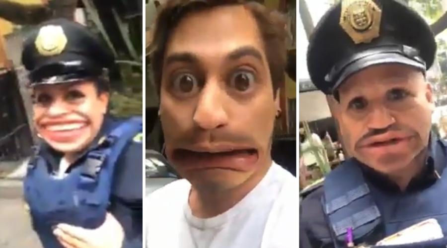 Video: Policías multan a joven y los graba con filtro de Snapchat | El Imparcial de Oaxaca