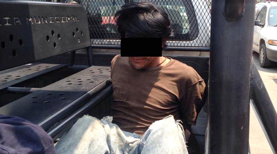 Por novena ocasión, Carmelo es detenido por robo | El Imparcial de Oaxaca