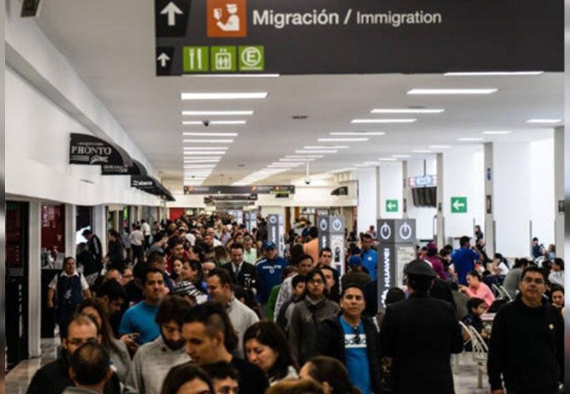 Tráfico de pasajeros en el AICM creció cinco por ciento en lo que va del año | El Imparcial de Oaxaca