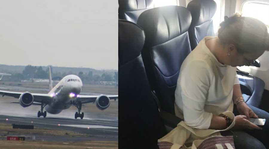 "Por ""orden presidencial"" retrasan vuelo de Aeroméxico para esperar a titular de Semarnat | El Imparcial de Oaxaca"