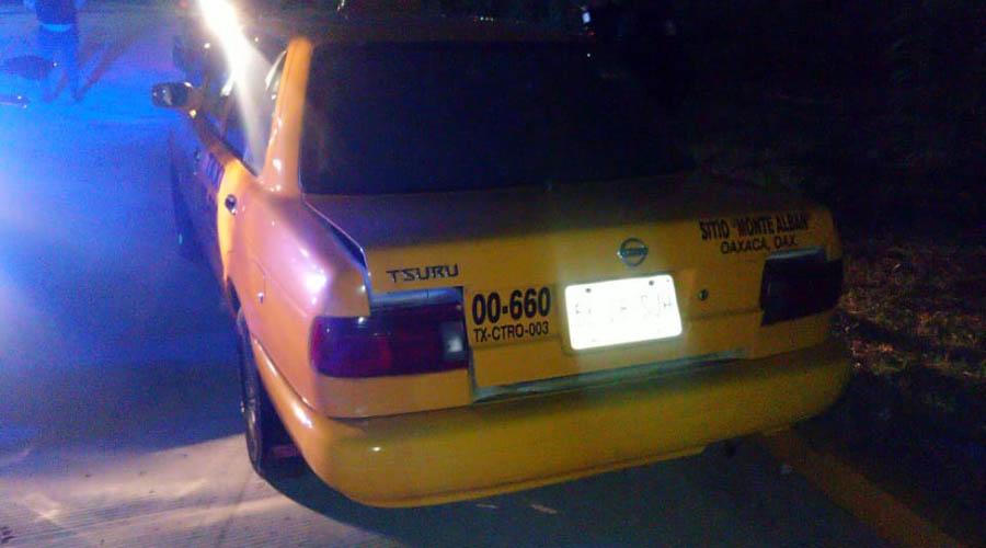 Roban taxi y lesionan al conductor en Xoxo | El Imparcial de Oaxaca