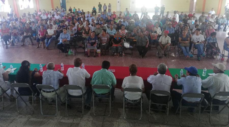Brindan certeza jurídica a los comuneros del Barrio de la Soledad | El Imparcial de Oaxaca