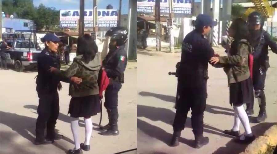 Video: Detienen a una estudiante del Conalep | El Imparcial de Oaxaca