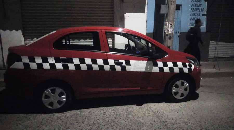 Roban taxi el pedir servicio en Huajuapan | El Imparcial de Oaxaca