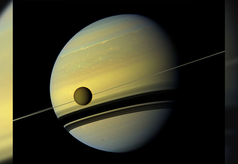 Conoce el satélite de Saturno considerado un miniplaneta que se parece a la Tierra   El Imparcial de Oaxaca