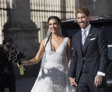 Sergio Ramos se casa con la presentadora Pilar Rubio