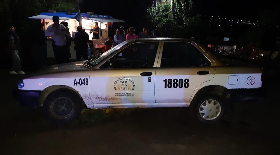 Balacean a taxista en la Mixteca | El Imparcial de Oaxaca