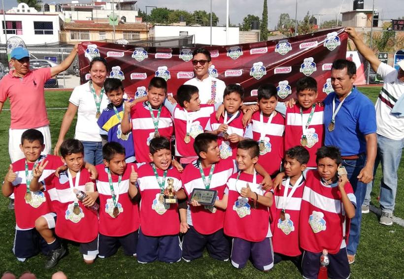 Ponen en alto a Pochutla en la Copa Futbolito Bimbo 2019