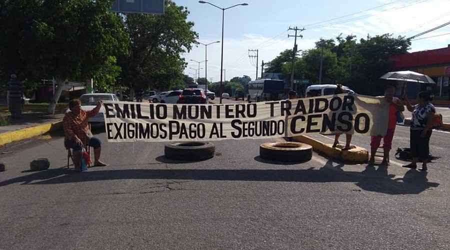 Con bloqueo, exigen liberar  recursos para la reconstrucción del Istmo | El Imparcial de Oaxaca