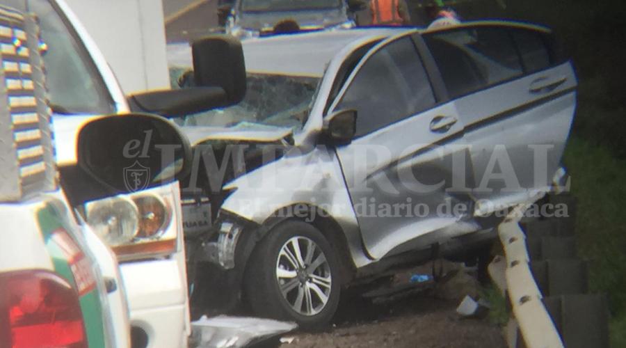 Trágico encontronazo deja dos muertos en libramiento a El Tule, Oaxaca | El Imparcial de Oaxaca