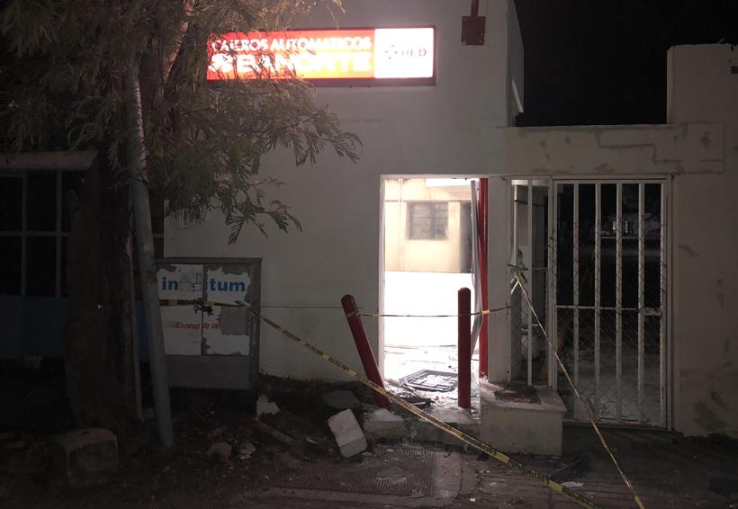 Se llevan otro cajero automático en Juchitán | El Imparcial de Oaxaca