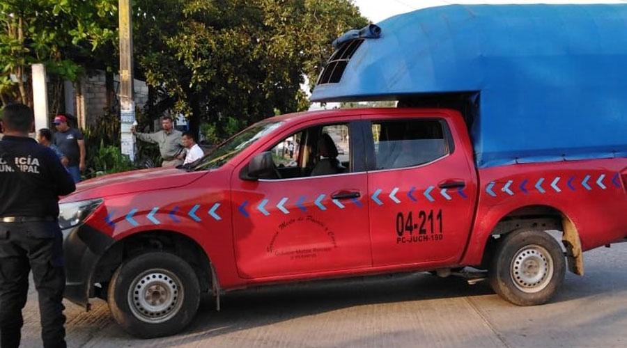 Fuerte choque entre camioneta y moto en Matías Romero | El Imparcial de Oaxaca