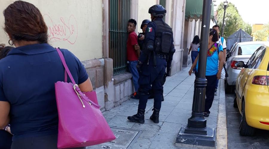 Detienen a ratero en calles del Centro Histórico   El Imparcial de Oaxaca