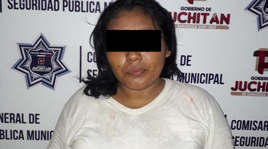 Cae en Juchitán supuesta hija de diputado por robo