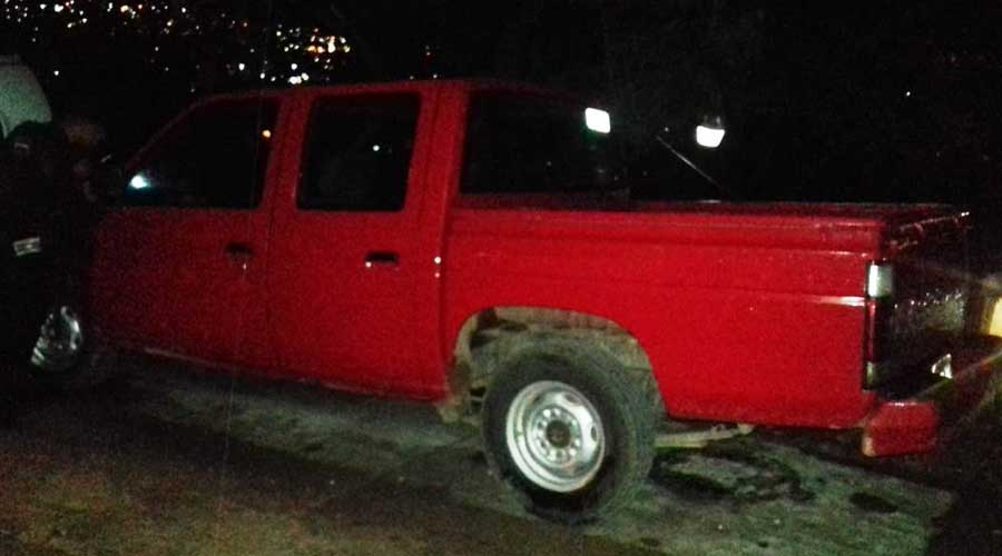 Recuperan en Zimatlán unidades  con reporte de robo