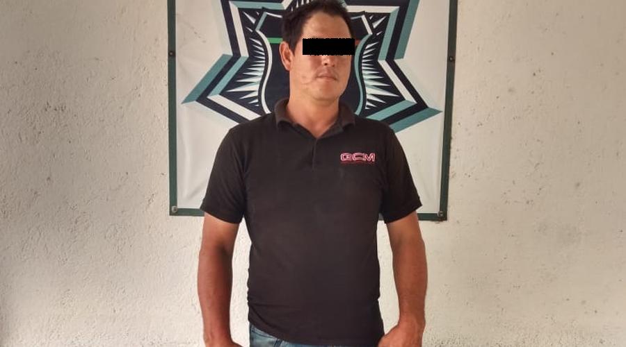 Detienen a dos sujetos mientras asaltaban a traliero en Matías Romero