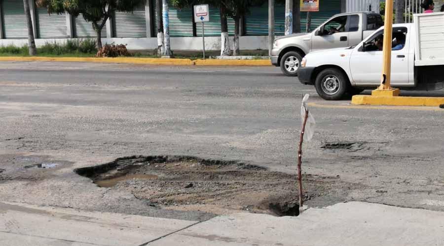 Puerto Escondido se convierte en la ciudad de los hoyos