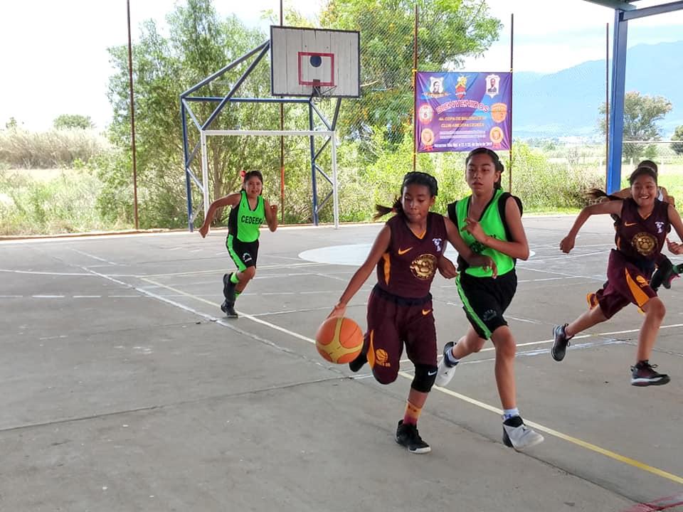 Se realizó la cuarta convivencia de baloncesto en Etla